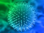Green blue virus 3D
