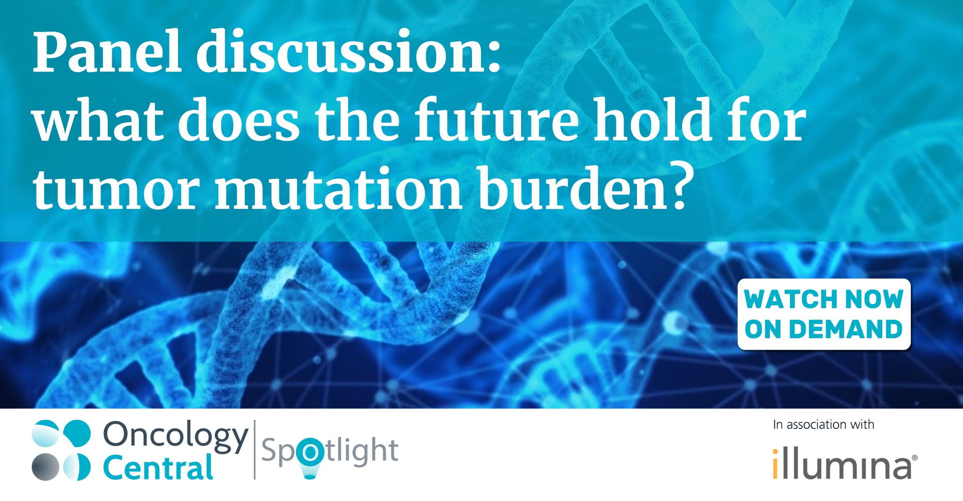 Panel discussion: what does the future hold for tumor mutational