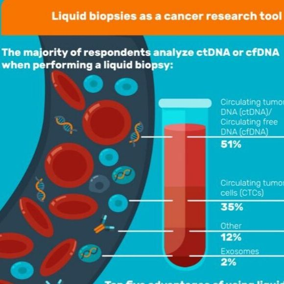 liquid biopsies infographic