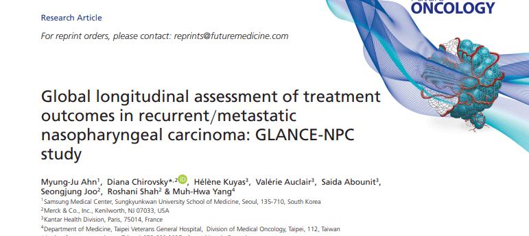 GLANCE-NPC study Nasopharyngeal carcinoma FON