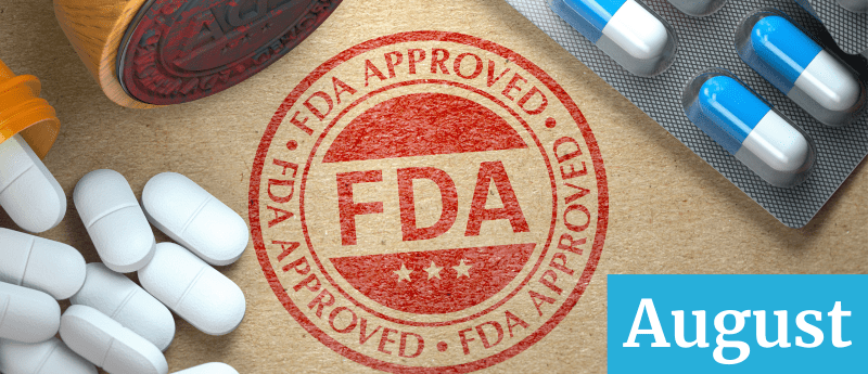 cancer drug approvals august