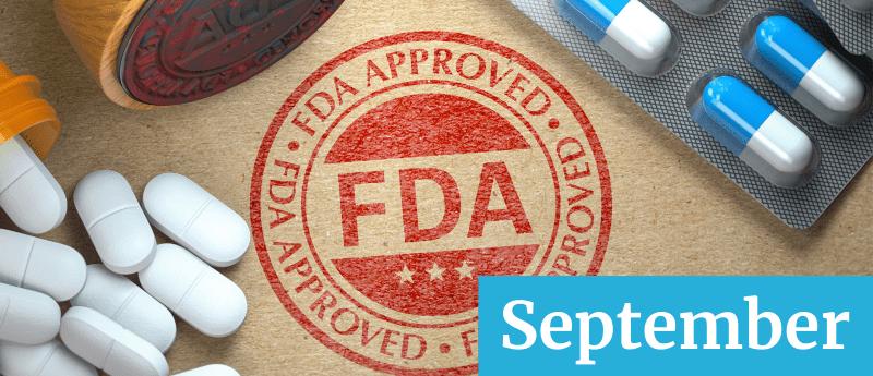 drug approval september